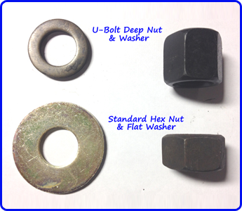 U-Bolts and Washer
